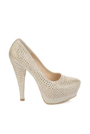 Pembe Potin Lolita Dore Ayakkabı