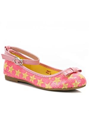 Pink Step Smart Pembe Kız Çocuk Babet