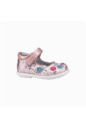 Pink Step Jojo Pembe Kız Çocuk Babet