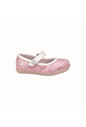 Pink Step Keya Pembe Kız Çocuk Babet