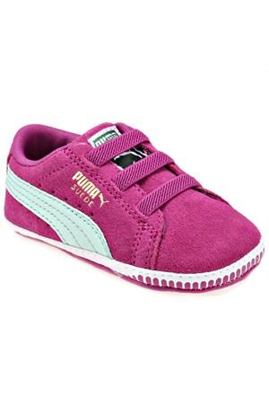 Puma 35596511 Mor Yeşil Kız Çocuk Sneaker