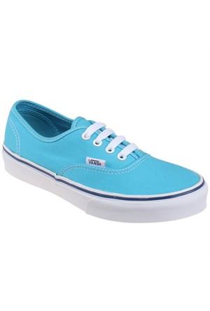Vans Authentic Mavi Beyaz Unisex Çocuk Sneaker