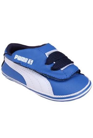 Puma 35857301 Mavi Beyaz Unisex Çocuk Sneaker