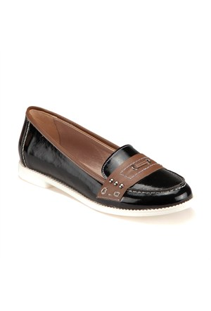 Miss F 7805 M 8087 Siyah Kadın Ayakkabı