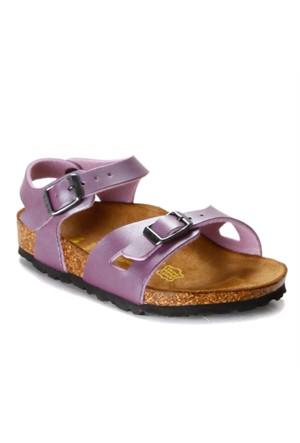 Birkenstock Wb431453 F Mor Kız Çocuk Sandalet