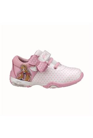 Winx Perla Beyaz Kız Çocuk Sneaker