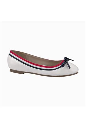 U.S. Polo Assn. 299683 Beyaz Kız Çocuk Ayakkabı