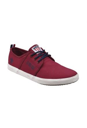 U.S. Polo Assn. A3351687 Bordo Erkek Sneaker