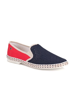 Panama Club 516 M 1612 Lacivert Kırmızı Erkek Ayakkabı
