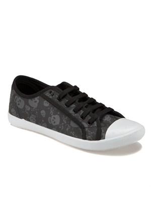 Carmens U1400 Z Siyah Kadın Sneaker