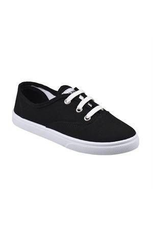 Kinetix A1290409 Siyah Beyaz Erkek Çocuk Sneaker