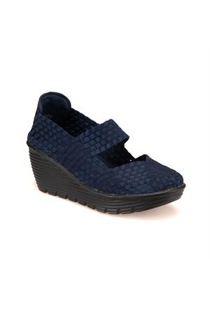 Art Bella Bobby Z Lacivert Kadın Gova Ayakkabı