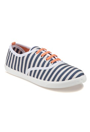 Carmens U1600 Z Lacivert Kadın Sneaker
