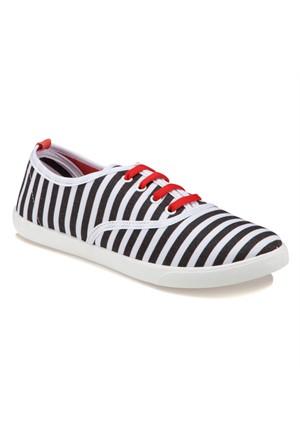 Carmens U1600 Z Siyah Kadın Sneaker