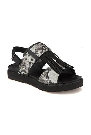 Butigo Bss16201 Z 1684 Siyah Kadın Sandalet