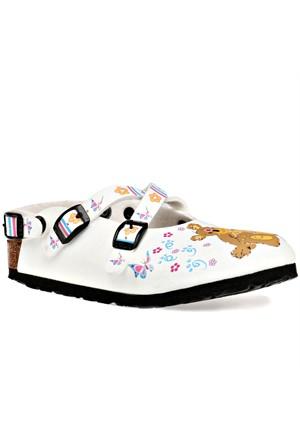 Birkenstock Wb353983c F Beyaz Kız Çocuk Sandalet
