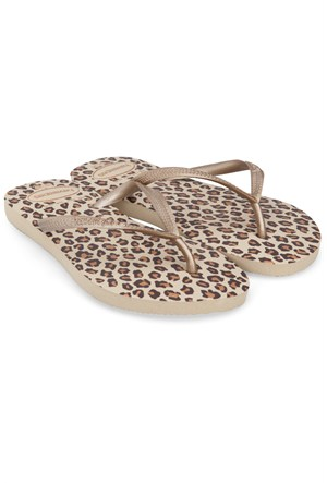Havaianas Slim Animals Sand Grey Terlik