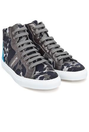 Bensimon Camocolor Sneackys Hi-Top Sneaker