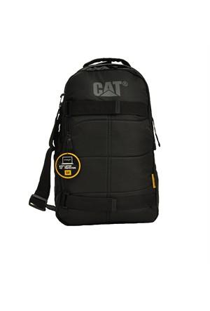 Cat Harici Laptop Bölmeli Sırt Çantası Siyah 80026