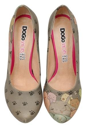 Dogostore I Am A Cat Person Topuklu Ayakkabı