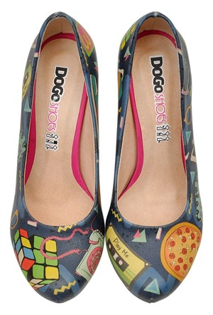 Dogostore This İs 80S Topuklu Ayakkabı