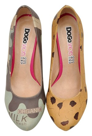 Dogostore Milk And Cookie Topuklu Ayakkabı