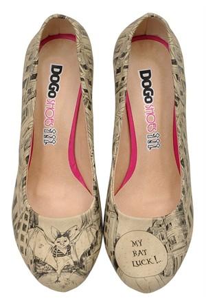 Dogostore My Bat Luck Topuklu Ayakkabı