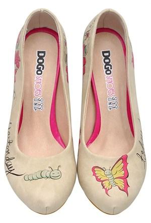 Dogostore Believe İn Miracles Topuklu Ayakkabı