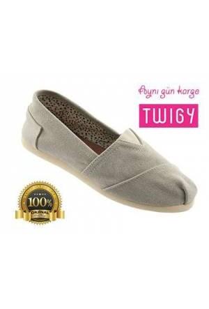 Twigy Keten Yazlık Ayakkabı Bej Espadril