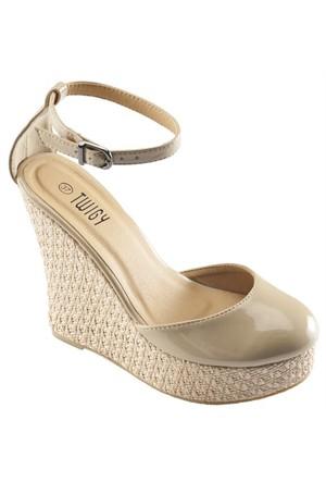 Twigy Marka Dolgu Topuk Ayakkabı