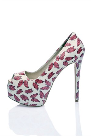Los Ojo Butterfly Topuklu Ayakkabı