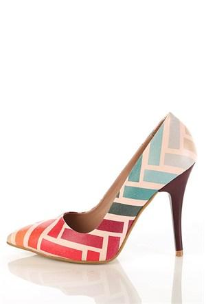 Los Ojo Gnc 026 Stiletto Kadın Topuklu Ayakkabı