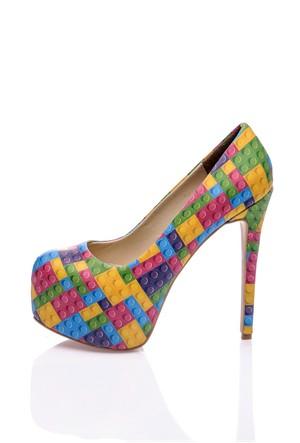 Los Ojo Legole Topuklu Ayakkabı