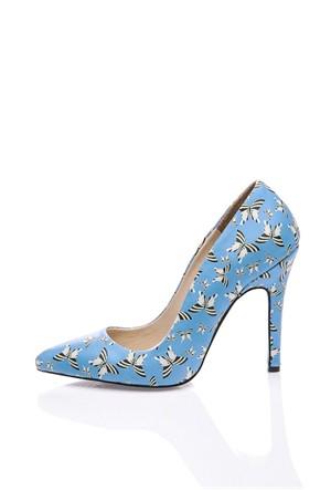 Los Ojo Papilla Topuklu Ayakkabı