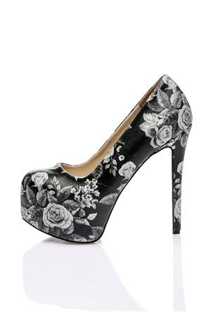 Los Ojo Rosegrey Topuklu Ayakkabı