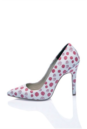 Los Ojo Rosey Topuklu Ayakkabı