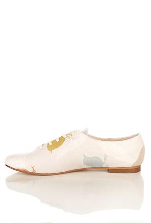 Los Ojo Srdr 002 Casual Bağcıklı Kadın Ayakkabı
