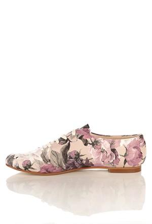 Los Ojo Srdr 003 Casual Bağcıklı Kadın Ayakkabı