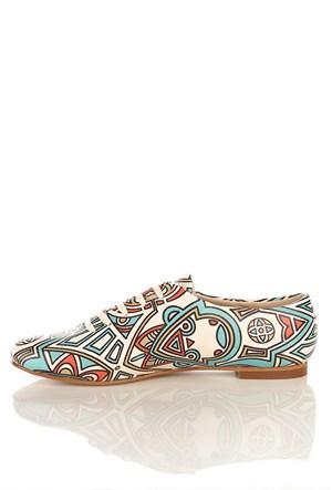 Los Ojo Srdr 004 Casual Bağcıklı Kadın Ayakkabı