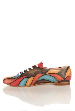 Los Ojo Srdr 007 Casual Bağcıklı Kadın Ayakkabı