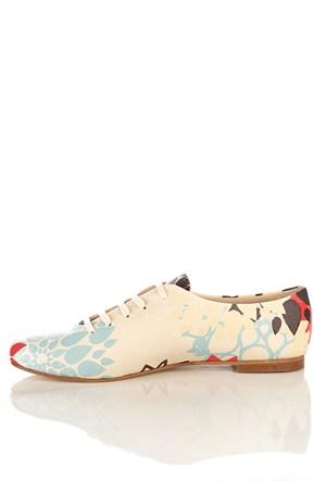 Los Ojo Srdr 011 Casual Bağcıklı Kadın Ayakkabı