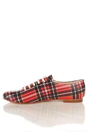 Los Ojo Srdr 017 Casual Bağcıklı Kadın Ayakkabı