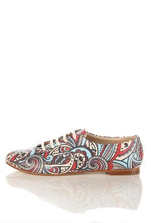 Los Ojo Srdr 022 Casual Bağcıklı Kadın Ayakkabı