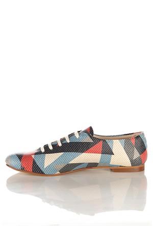 Los Ojo Srdr 024 Casual Bağcıklı Kadın Ayakkabı