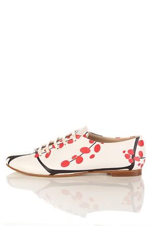 Los Ojo Srdr 027 Casual Bağcıklı Kadın Ayakkabı