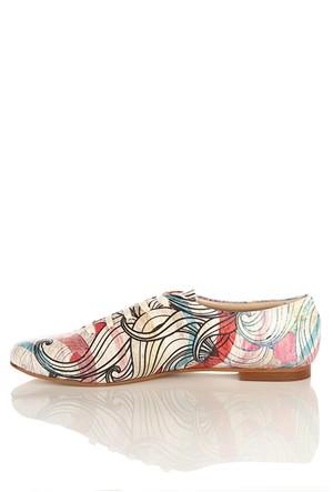Los Ojo Srdr 029 Casual Bağcıklı Kadın Ayakkabı