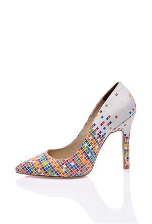 Los Ojo Tetris Topuklu Ayakkabı