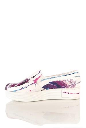 Los Ojo Tkn 005 Yüksek Sneaker Kadın Ayakkabı