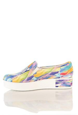 Los Ojo Tkn 006 Yüksek Sneaker Kadın Ayakkabı
