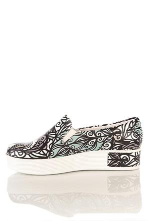 Los Ojo Tkn 008 Yüksek Sneaker Kadın Ayakkabı